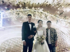 羽毛球主题的婚礼,看洪玮/赵芸蕾的浪漫邂逅