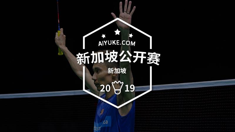 2019年新加坡羽毛球公開賽