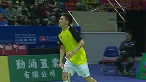 陆光祖VS李卓耀 2019亚洲混合团体赛 混合团体半决赛视频