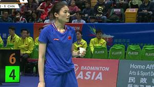 韩悦VS高桥沙也加 2019亚洲混合团体赛 混合团体决赛视频