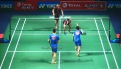 王懿律/黄东萍把战胜双蔚的对手打了个21-8!