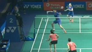陈笑菲这封网面积,为什么要在她网前起高球?