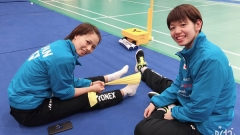 福島/廣田:隊內競爭激烈,戰勝隊友才有機會打奧運