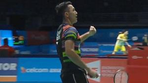 桃田贤斗OUT,乔纳坦证明自己不是最水亚运冠军!