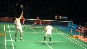 【低视角】大马赛决赛,国羽双塔 vs 鸡血组合