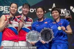 2019年亚锦赛赛前回顾,中国女双曾经10连冠!
