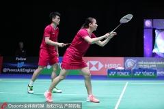 林丹退赛,何济霆/杜玥、东渡组合一轮游丨新加坡赛首轮