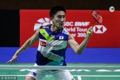 雅思組合本賽季首敗,桃田6-16逆轉安賽龍 |新加坡半決賽