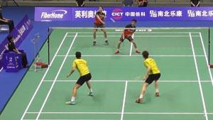 费尔纳迪/苏卡穆约VS张德正/杨铭诺 2019亚锦赛 男双1/8决赛视频