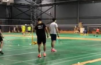 李宗伟2019年4月3V3最新训练视频!