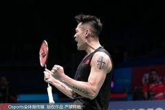 新西兰1/16决赛丨国羽小将21-4爆冷内维尔,林丹晋级