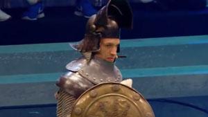 穿盔甲的不一定是骑士,也可能是羽毛球选手!