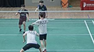 张胜勋/申泰阳VS柳延星/金英爀 2019韩国夏季羽毛球锦标赛 男双1/4决赛视频