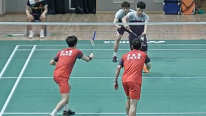 李龙大/催率圭VS高成炫/申白喆 2019韩国夏季羽毛球锦标赛 男双1/4决赛视频