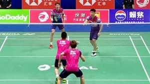 李俊慧/刘雨辰VS苏伟译/谢定峰 2019苏迪曼杯 混合团体小组赛视频