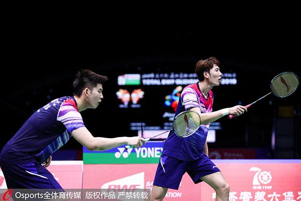 李俊慧/刘雨辰VS基丁柳蓬/伊斯里亚纳特 2019苏迪曼杯 混合团体半决赛视频