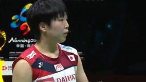 山口茜VS玛莉丝卡 2019苏迪曼杯 混合团体半决赛视频
