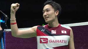 桃田贤斗VS金廷 2019苏迪曼杯 混合团体半决赛视频