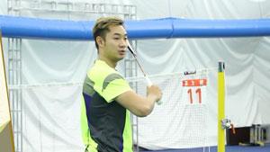 王睁茗谈反拍回球,肘带动小臂发力
