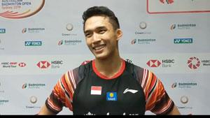 乔纳坦:战胜林丹很开心 只想多拿奥运积分!