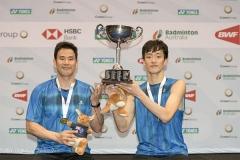 高成炫/申白喆:盼维持澳洲赛表现,目标参加东京奥运