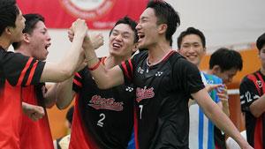 桃田贤斗VS常山干太 2019全日本实业俱乐部锦标赛 男团半决赛视频