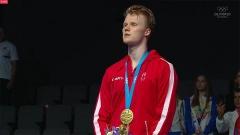 安东森加冕欧洲冠军,英国2金3银收官!