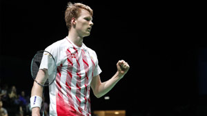 安德斯·安東森VS利弗德斯 2019歐運會 男單決賽視頻