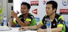 """""""亨山組合""""稱享受比賽,目標打入印尼賽半決賽"""