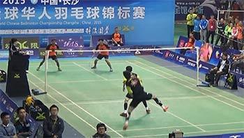 2015華人杯專業男雙決賽, 田子杰/黃柏睿vs姜臻/馬麟