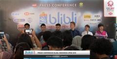 何冰嬌:印尼賽比賽氛圍很好,有信心奪冠