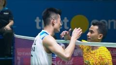 没鹰眼多次惹争议,谌龙苦战3局晋级丨印尼赛首轮