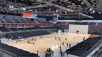 本周日本公开赛与明年奥运羽球在同一场馆举办