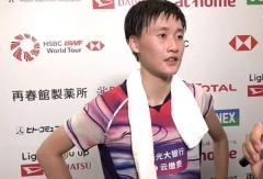 陈雨菲:有肩伤影响,但主要是心态过于急躁