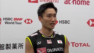 连续两年晋级决赛,桃田贤斗坦言主场观众让自己放松!