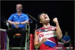 日本公开赛决赛对阵出炉,桃田贤斗冲击冠军