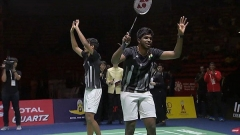 印度羽协:击败中国双塔夺冠,印度男双创造历史