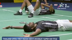 印度男双有史以来最好成绩,印度媒体报道力度不亚于辛德胡夺银!