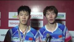刘雨辰:对手表现的很好,打的更加耐心