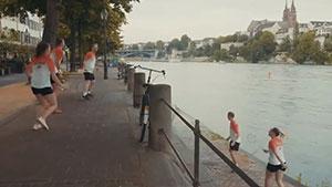 瑞士羽毛球队录制新颖短片,迎接巴塞尔世锦赛