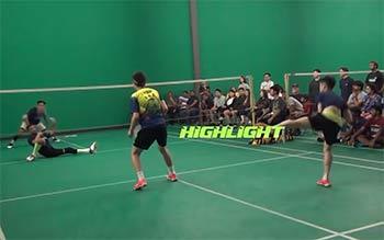 大家看看這國外男雙決賽,比中國省隊水平如何?