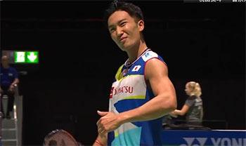 桃田贤斗VS范高强 2019羽毛球世锦赛 男单资格赛视频