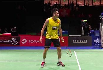 林丹VS阮天明 2019羽毛球世锦赛 男单首轮视频