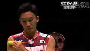 桃田贤斗VS佩纳尔弗 2019羽毛球世锦赛 男单1/16决赛视频
