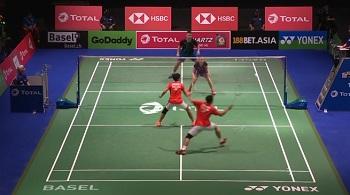 德差波爾/沙西麗VS阿利莫夫/艾琳娜 2019羽毛球世錦賽 混雙1/16決賽視頻