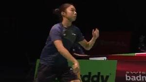 杨佳敏VS武氏庄 2019羽毛球世锦赛 女单1/8决赛视频
