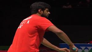 普拉尼斯VS金廷 2019羽毛球世锦赛 男单1/8决赛视频
