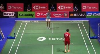 陈雨菲VS米娅 2019羽毛球世锦赛 女单1/4决赛视频