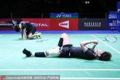 李茵晖:两只脚都抽筋了,但是不想放弃