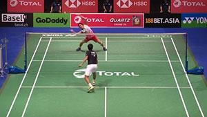 桃田贤斗VS普拉尼斯 2019羽毛球世锦赛 男单半决赛视频